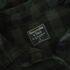 Abercrombie & Fitch Tops - Abercrombie & Fitch Plaid Flannel Shirt
